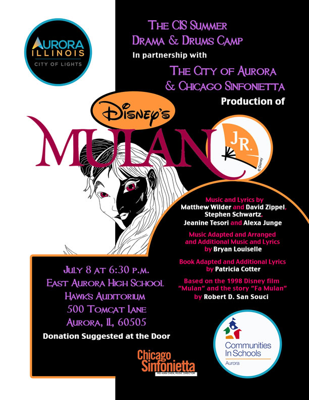 CIS Summer Camp presents Disney's Mulan Jr.