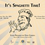 Kiwanis Spaghetti Flyer
